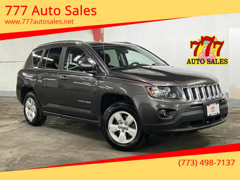 2014 Jeep Compass for sale at 777 Auto Sales in Bedford Park IL