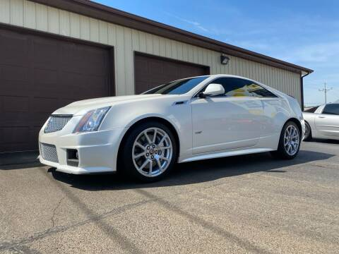 2012 Cadillac CTS-V for sale at Ryans Auto Sales in Muncie IN