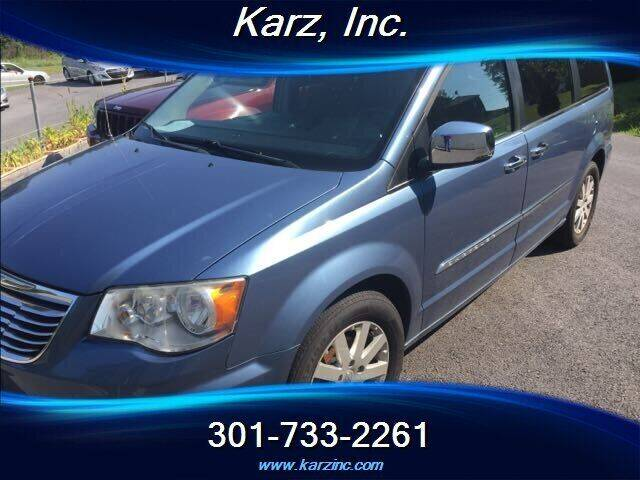 2011 Chrysler Town and Country for sale at Karz INC in Funkstown MD