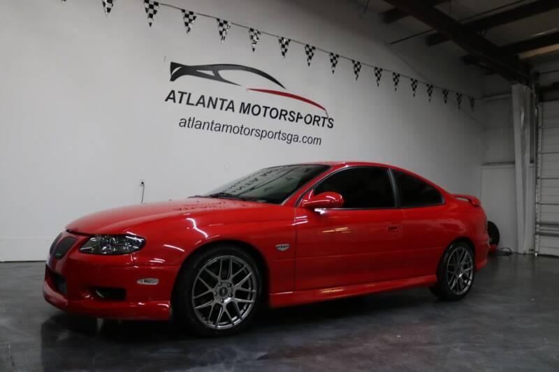 2004 Pontiac GTO for sale at Atlanta Motorsports in Roswell GA