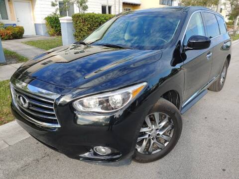 2013 Infiniti JX35 for sale at Easy Finance Motors in West Park FL