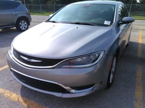 2015 Chrysler 200 for sale at Cj king of car loans/JJ's Best Auto Sales in Troy MI