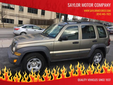 2006 Jeep Liberty for sale at Saylor Motor Company in Somerset PA