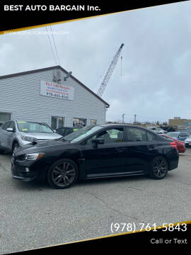 2016 Subaru WRX for sale at BEST AUTO BARGAIN inc. in Lowell MA