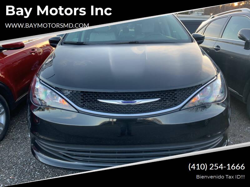 2020 Chrysler Voyager for sale at Bay Motors Inc in Baltimore MD