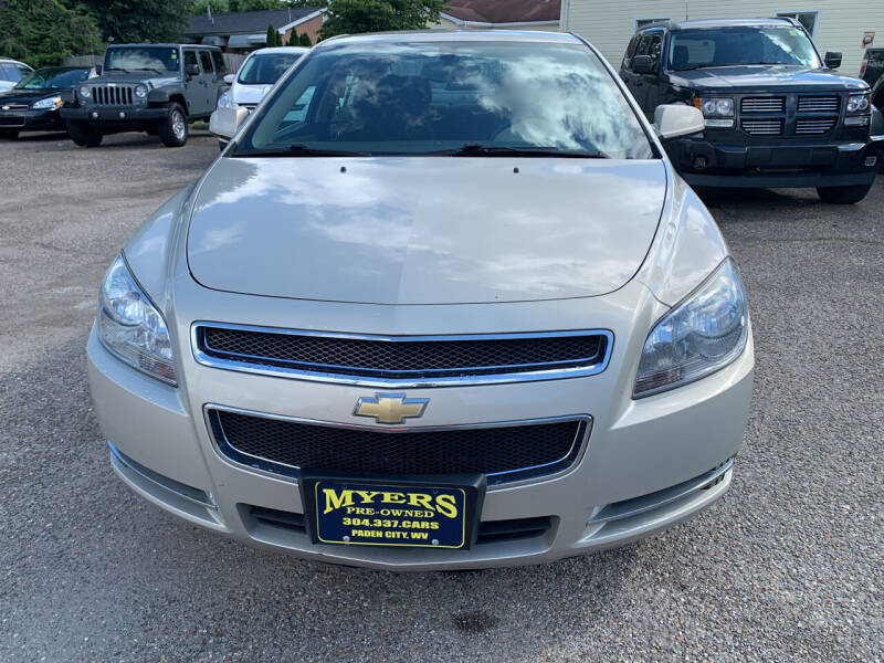 2012 Chevrolet Malibu for sale at MYERS PRE OWNED AUTOS & POWERSPORTS in Paden City WV