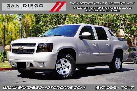 2007 Chevrolet Avalanche for sale at San Diego Motor Cars LLC in San Diego CA