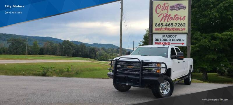 2015 Chevrolet Silverado 2500HD for sale at City Motors in Mascot TN