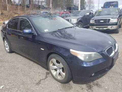 2006 BMW 5 Series for sale at Plymouthe Motors in Leominster MA