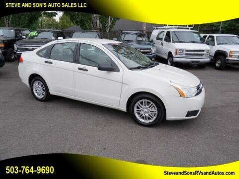 2009 Ford Focus for sale at Steve & Sons Auto Sales in Happy Valley OR
