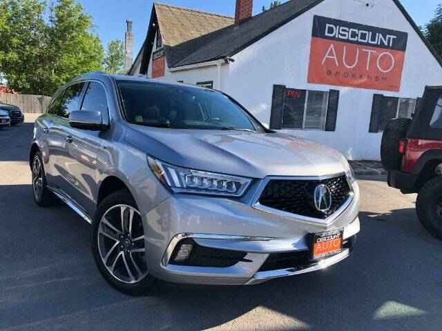 2017 Acura MDX for sale at Discount Auto Brokers Inc. in Lehi UT