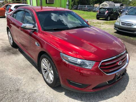 2015 Ford Taurus for sale at Marvin Motors in Kissimmee FL