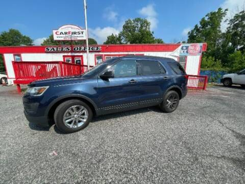 2016 Ford Explorer for sale at CARFIRST ABERDEEN in Aberdeen MD