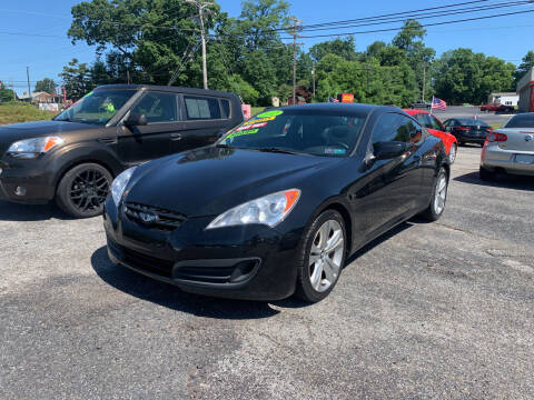 2012 Hyundai Genesis Coupe for sale at Credit Connection Auto Sales Dover in Dover PA