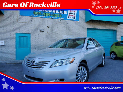 2009 Toyota Camry for sale at Cars Of Rockville in Rockville MD