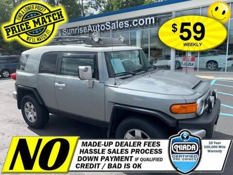2009 Toyota FJ Cruiser for sale at AUTOFYND in Elmont NY