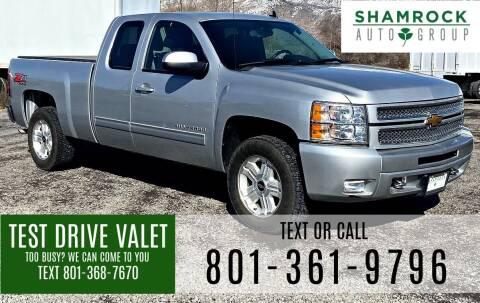 2013 Chevrolet Silverado 1500 for sale at Shamrock Group LLC #1 in Pleasant Grove UT