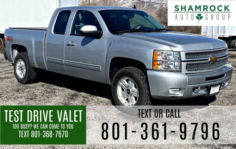 2013 Chevrolet Silverado 1500 for sale at Shamrock Group LLC #1 in Pleasant Grove UT