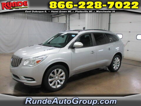 2017 Buick Enclave for sale at Runde Chevrolet in East Dubuque IL