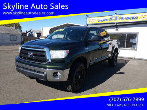 2011 Toyota Tundra for sale at Skyline Auto Sales in Santa Rosa CA