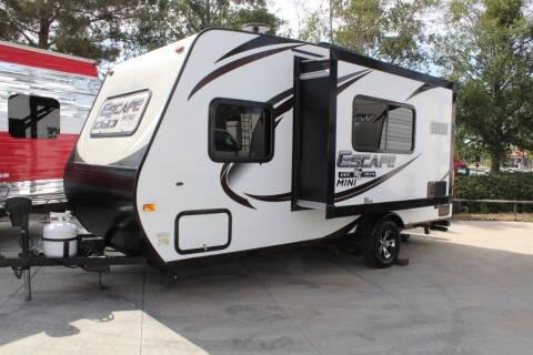 2019 Escape Mini Series E181RK for sale at Rancho Santa Margarita RV in Rancho Santa Margarita CA