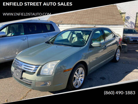 2008 Ford Fusion for sale at ENFIELD STREET AUTO SALES in Enfield CT