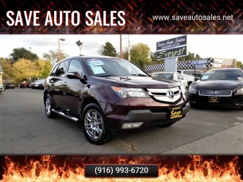 2009 Acura MDX for sale at Save Auto Sales in Sacramento CA