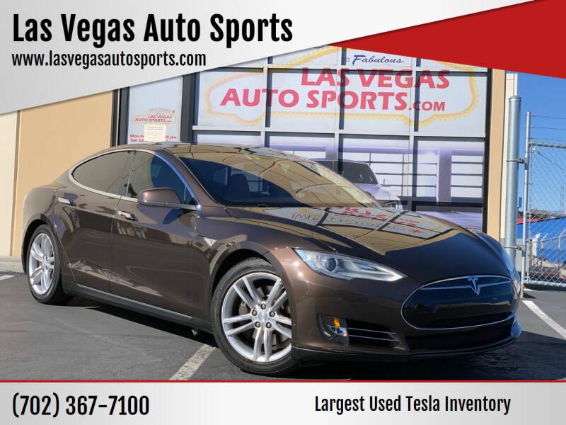 2013 Tesla Model S for sale at Las Vegas Auto Sports in Las Vegas NV