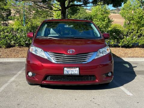 2015 Toyota Sienna for sale at CARFORNIA SOLUTIONS in Hayward CA