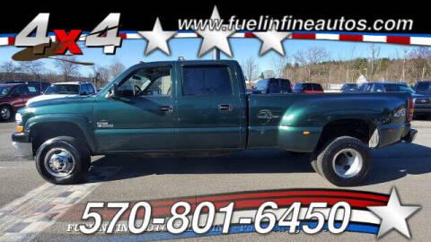 2001 Chevrolet Silverado 3500 for sale at FUELIN FINE AUTO SALES INC in Saylorsburg PA