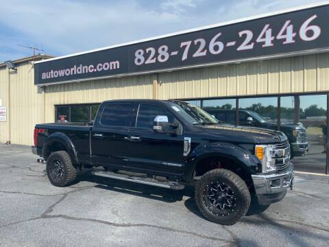 2017 Ford F-250 Super Duty for sale at AutoWorld of Lenoir in Lenoir NC