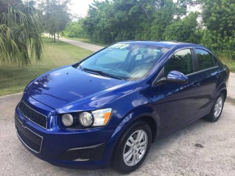 2013 Chevrolet Sonic for sale at LA Motors Miami in Miami FL