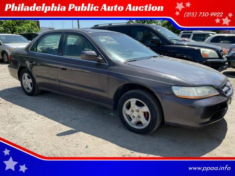 1999 Honda Accord for sale at Philadelphia Public Auto Auction in Philadelphia PA