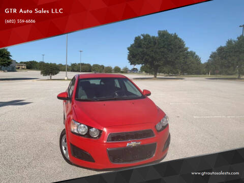 2013 Chevrolet Sonic for sale at GTR Auto Sales LLC in Haltom City TX