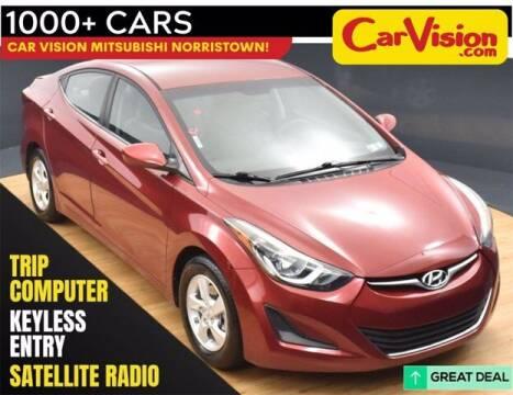 2014 Hyundai Elantra for sale at Car Vision Buying Center in Norristown PA