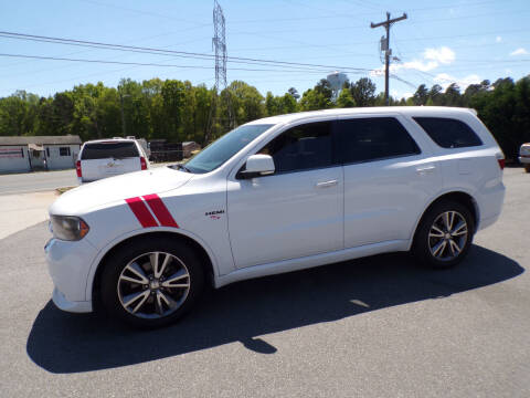 2013 Dodge Durango for sale at Cambria Cars in Mooresville NC