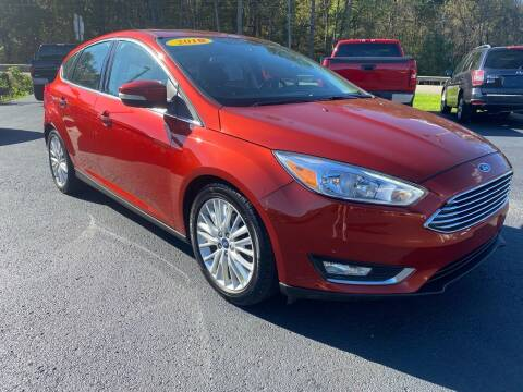 2018 Ford Focus for sale at Pine Grove Auto Sales LLC in Russell PA