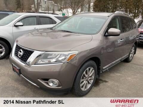 2014 Nissan Pathfinder for sale at Warren Auto Sales in Oxford NY