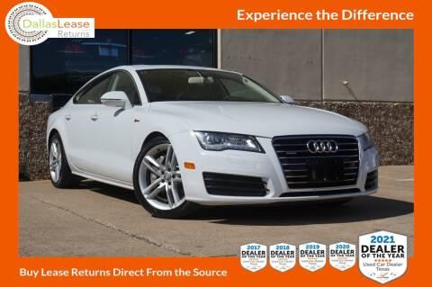 2013 Audi A7 for sale at Dallas Auto Finance in Dallas TX