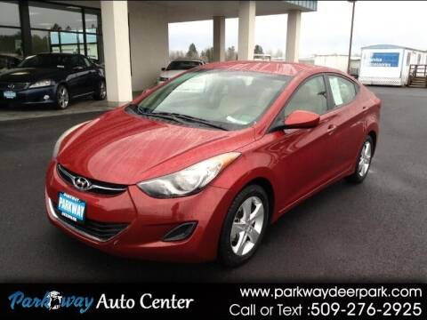 2013 Hyundai Elantra for sale at PARKWAY AUTO CENTER AND RV in Deer Park WA