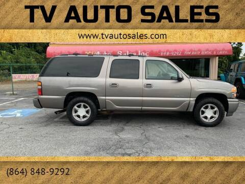 2006 GMC Yukon XL for sale at TV Auto Sales in Greer SC