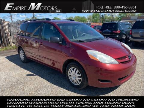 2007 Toyota Sienna for sale at Empire Motors LTD in Cleveland OH