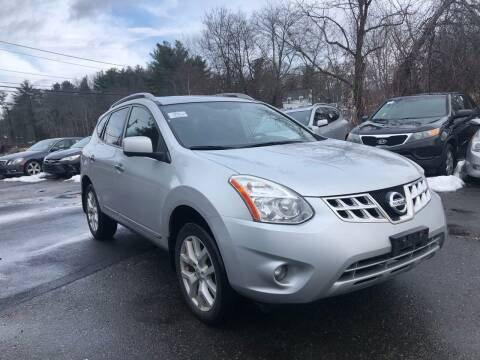 2012 Nissan Rogue for sale at Royal Crest Motors in Haverhill MA