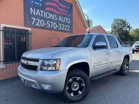 2011 Chevrolet Avalanche for sale at Nations Auto Inc. II in Denver CO