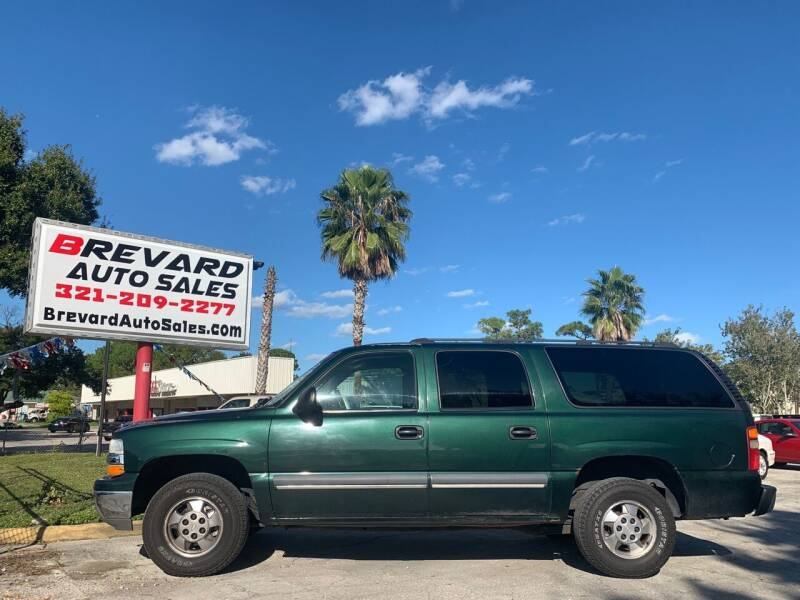 2003 Chevrolet Suburban for sale at Brevard Auto Sales in Palm Bay FL