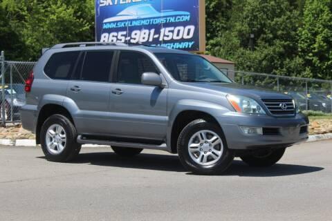 2007 Lexus GX 470 for sale at Skyline Motors in Louisville TN