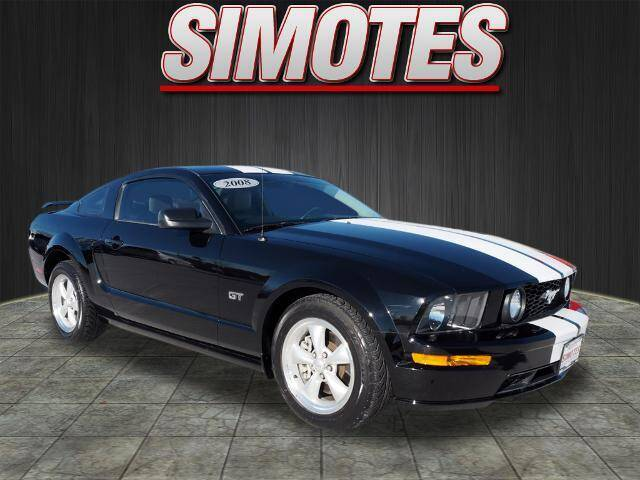 2008 Ford Mustang for sale at SIMOTES MOTORS in Minooka IL