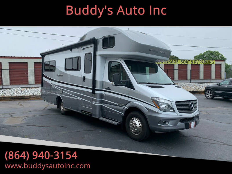 2019 Mercedes-Benz Chassis Winnebago Navion for sale at Buddy's Auto Inc in Pendleton, SC