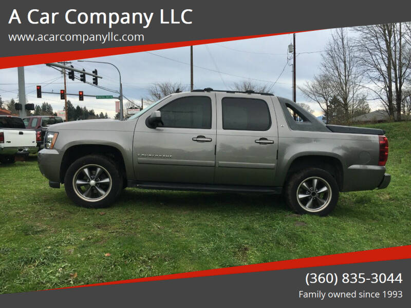 2007 Chevrolet Avalanche for sale at A Car Company LLC in Washougal WA