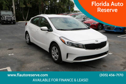 2018 Kia Forte for sale at Florida Auto Reserve in Medley FL